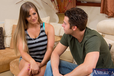 Holly Heart is sexually intrigued for her sons collaborator and this girl is keen of riding his cock.