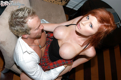 Office secretary Kenzi Marie acquires her bawdy cleft screwed by her boss