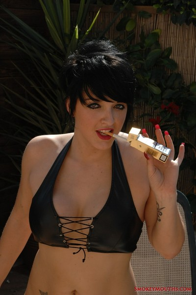 Tilly bonks this girl is as this girl smokes a bh 100