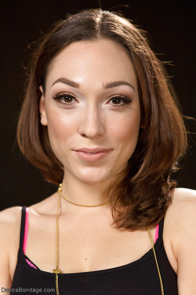 Conformation instance Lily LaBeau is united and mishandled with egg gag in chop