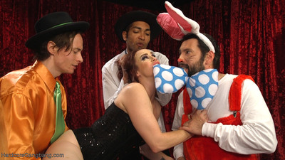 Bella acquires pluged in all her holes at the same time by judge doom & the weasels!