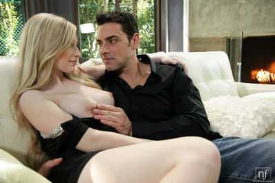Twosome golden-haired girl stacie jaxxx as that babe bangs her stallion and then take