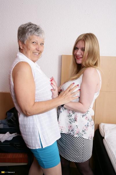 2 sexual british placid ladies die away complete female-on-female