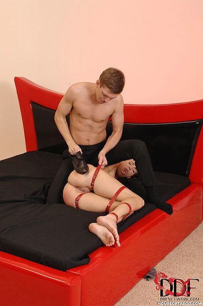 Fixed Sadomasochism kink illustration takes strained anal and swallows ball batter and spit