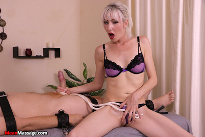 Jane masturbating and teasing gigantic schlong but this girl ruined its agonorgasmos