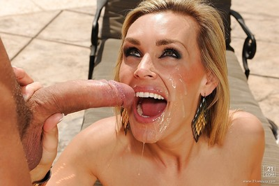 Boobsy fairy European MILF Tanya Tate exquisite  on face outdoors