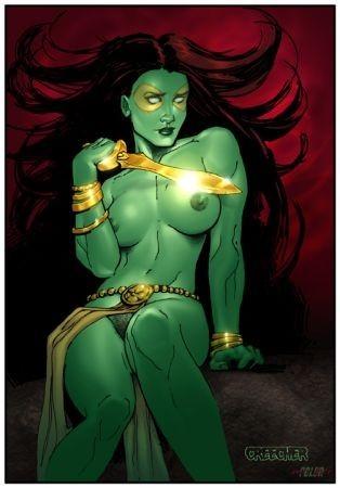 Gamora fresh superhero fucking