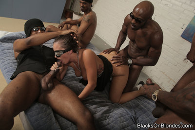 blacks on blondes geared up 37