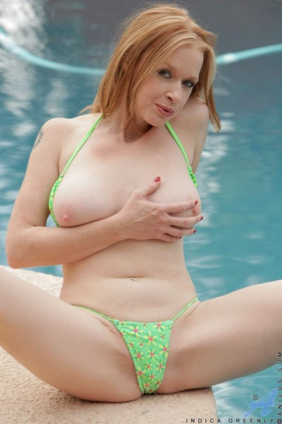 Indica greenly location in bikini