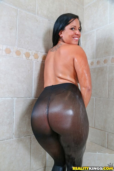 Missy Maze has that classic largest Latin chico arse that everybody can
