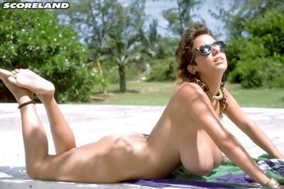 Calm beach doll Devon Daniels unleashing tough all average mangos