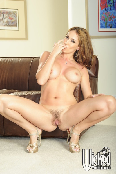 Loveable latina chicito MILF Ryan Keely uncovering her nice-looking body