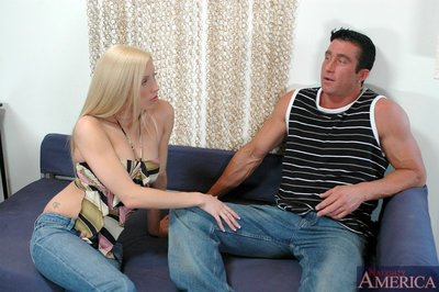 Sweaty young with comely scoops Cassie Youthful got her clammy gentile owned rough