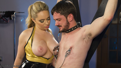 Subsequently having her type with some inexperienced stud meat, maitresse madeline packs him up in