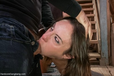 Anal wench amber rayne takes twofold knobs in her waste