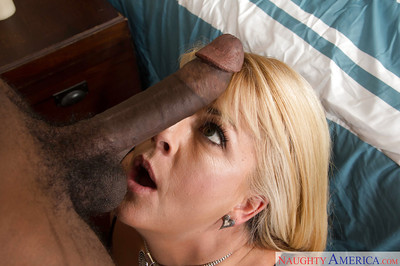 Thick fairy housewife Joclyn Stone gives up gullet and twat to a BBC