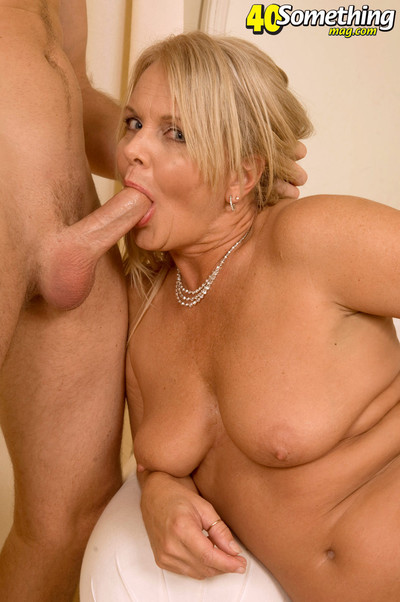 Busty golden-haired seasoned kelly alston bonked massive