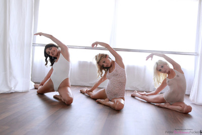 Ballerinas adria rae piper perri and pine for harper having group se
