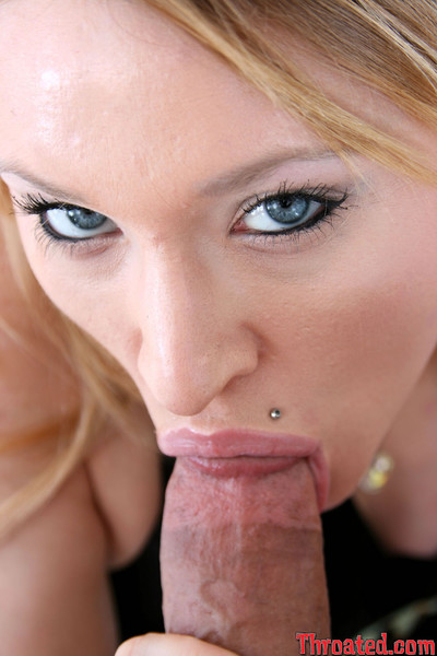 Phallus horny kayla marie swallows 10-Pounder to the scrotums