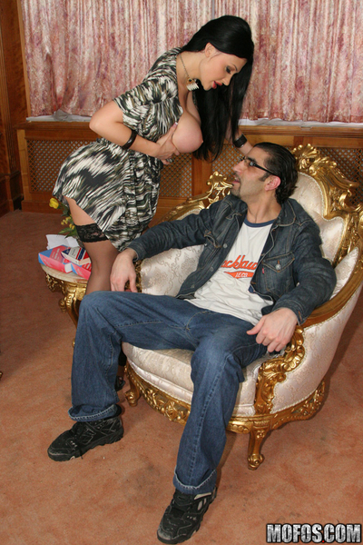 10-Pounder sexually intrigued vixen in nylons Aletta Ocean receives shagged hardcore