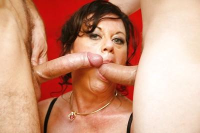 Cock-starving aged in  De Bella has some 2 bonked pleasure