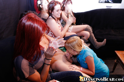 Covered queens are fascinating an rock hard stripper with blowjobs