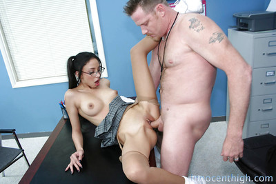 Gorgeous girlfriend Alexis Love riding a rough dagger and getting delighted