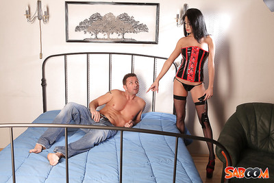 Perky kink vixen in  receives passionately owned for a delicious spunk fountain