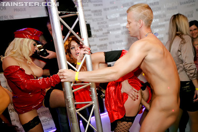 Brilliant all together queens swallowing and very gentleman strippers