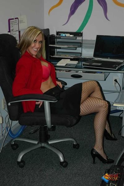 Brandi love secretary