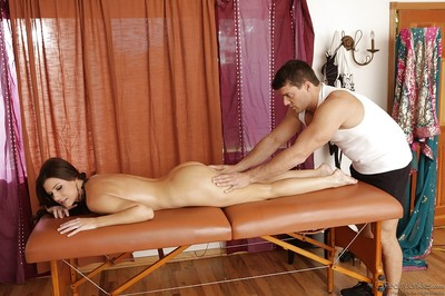 Seductive MILF India Summer acquires slammed hardcore on the massage table