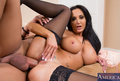 Ava Addams is slutty for younger schlong so that babe bangs her sons friend.
