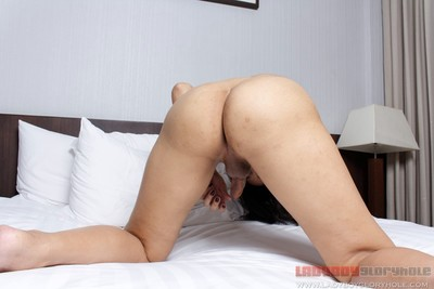 Charming amateur tgirl attain dug