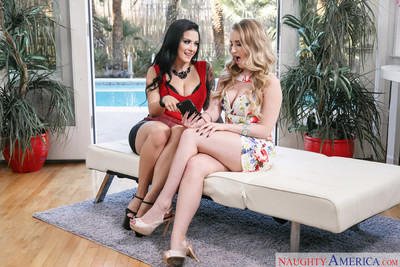 Katrina jade shares the neighbors ramrod with harley jade