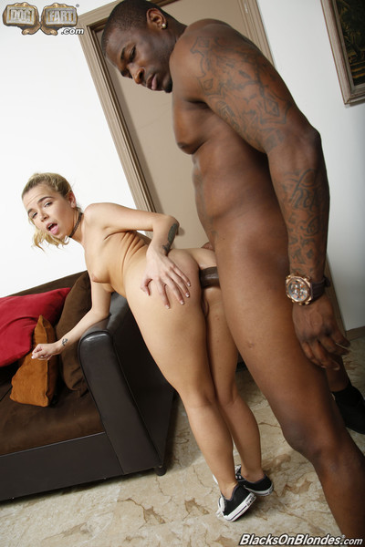 Alina west astonishingly a massive brown pecker at dogfart