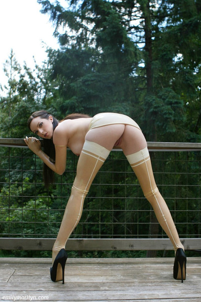 Fixation pattern Emily Marilyn perspired bothered in transparent latex