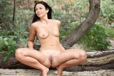 Damp nudist with a mind blasting body