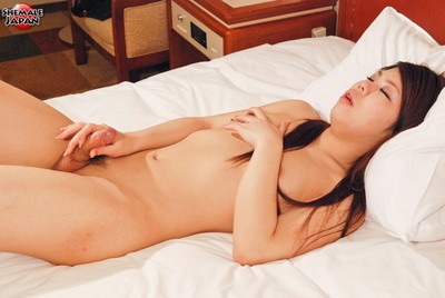 Teen yumika unclothed on the daybed