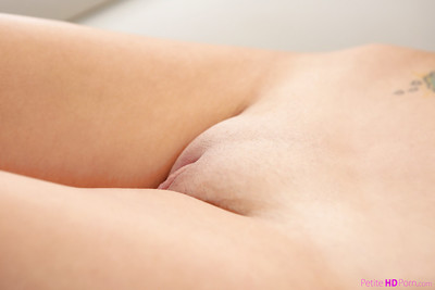 Infant gal Gia Paige shows off wonderful wazoo and smooth head gentile afterwards striptease in nature
