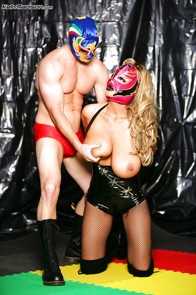 Infant cosplay copulation scene with a huge scoops milf lady Kelly Madison
