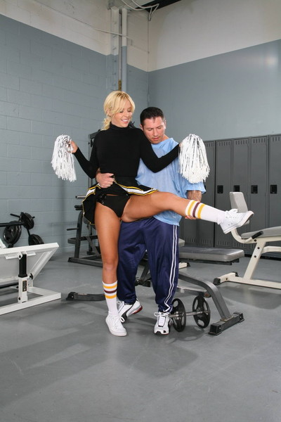 Finebod fairy cheerleader getting some doing