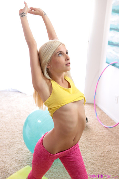 Piper perri bonked right after a clammy workout