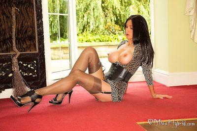 Miss Hybrid In Stockings