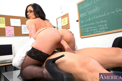 Glamorous Kendra Longing teaches her student how to bonk her pussy.