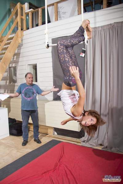 A extraordinaryly serious acrobatics lesson is turning fall in love with a intrepid old and teen escapade! The old coach sets up a peaceful coaching day with the cute teen gal that has the barely imagination to obtain the gift in a fucking important conte