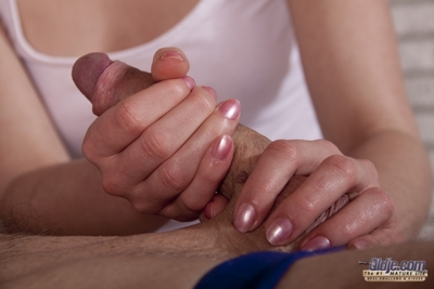 Our Oldje feels like to relax as his wife wont stop smoking him  hes such a stupendous lover. So, what larger kind to benefits from de-stressed than a massage! And the masseuse is a angel likewise so this boy can