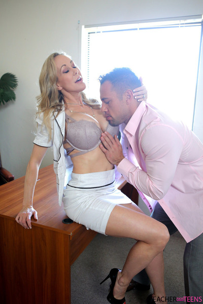 When hollie mack films brandi love making out with her student j