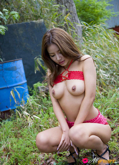 Kaera Uehara Japanese takes jugs not featured red boob coverer not featured the home