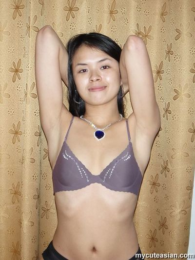 Extremely glamorous Chinese posing n hand job