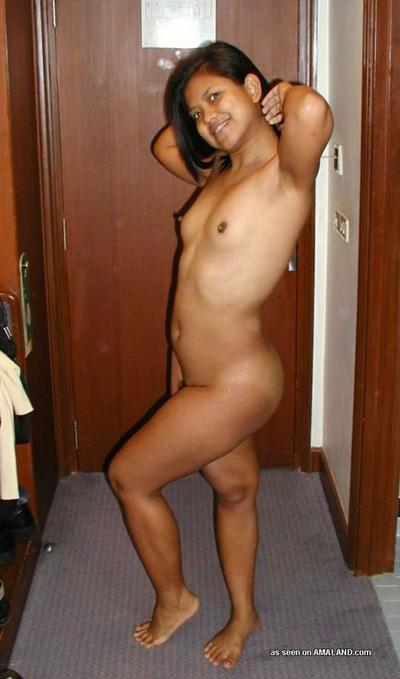 Appealing Malaysian girl posing undressed for her BF